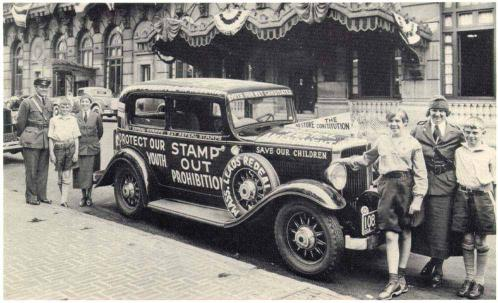 Stamp out prohibition car
